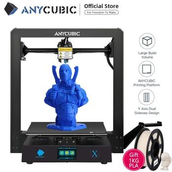 Anycubic 3D Printer Mega X FDM Modular Design Large Size Print 1.75mm Flexible/PLA Filament 3d Drucker