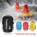 TOMSHOO Портативный 40L уличная водонепроницаемая сумка для отслеживание рыбы во время рыбалки сухой мешок кемпинг спальный мешок для хранения ...