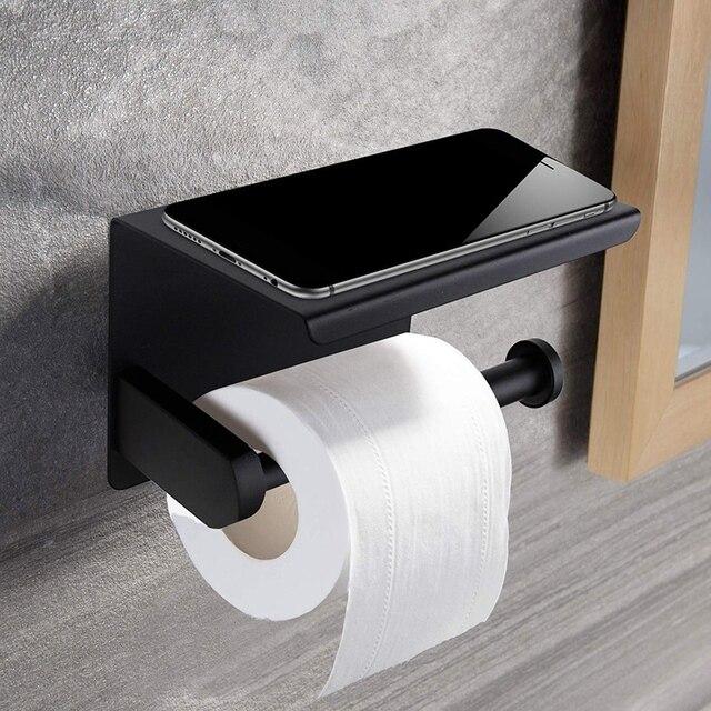 Porte Papier Toilette Inox