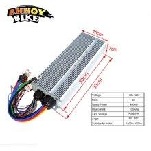 Контроллер для электровелосипеда 48В 60V72V84V96V120V 4000 Вт контроллер для электродвигателя 4 кВт 36 МОС ток 100 Ампер Corrente Bicicleta электрический мотоцикл