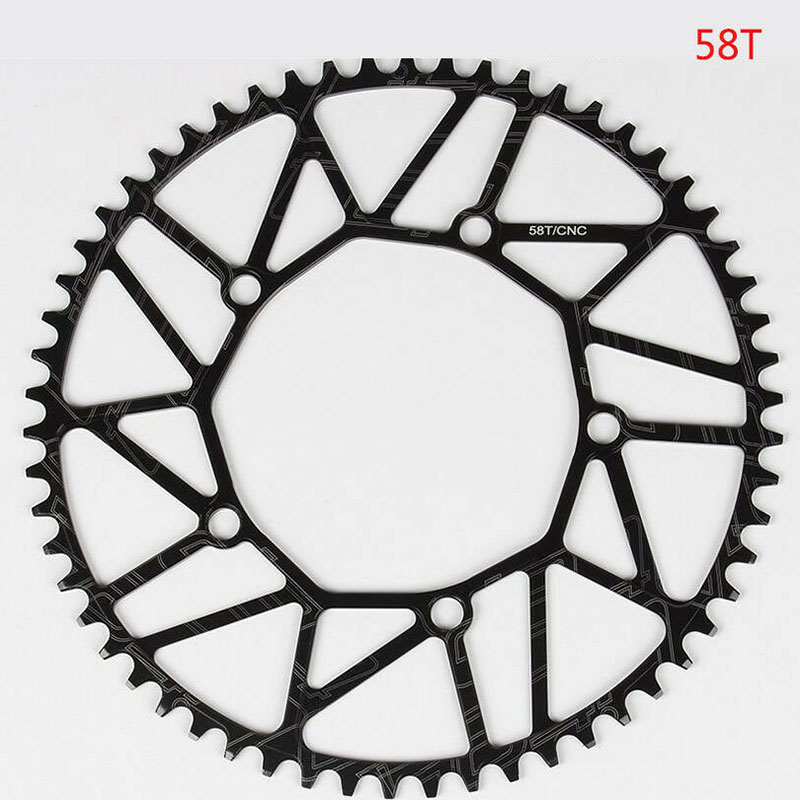 Wholesale Road FR MTB Bike Narrow Wide hollow Chainring Chain Ring BCD 130mm 58T