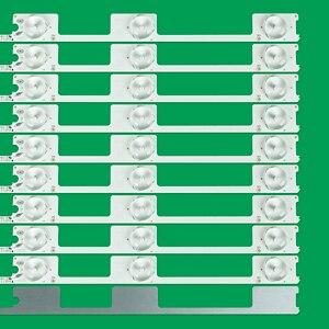Image 4 - 10pcs x 6v LED Bar TV Backlight Strips for Konka KDL48JT618A 258YTK Panel 35018539 6 LEDs 442mm 48 TV Backlit