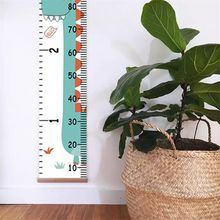 Home Children Cartoon Height Ruler Simple Creative Decorative Wall Stickers Hanging Photography Props E65D
