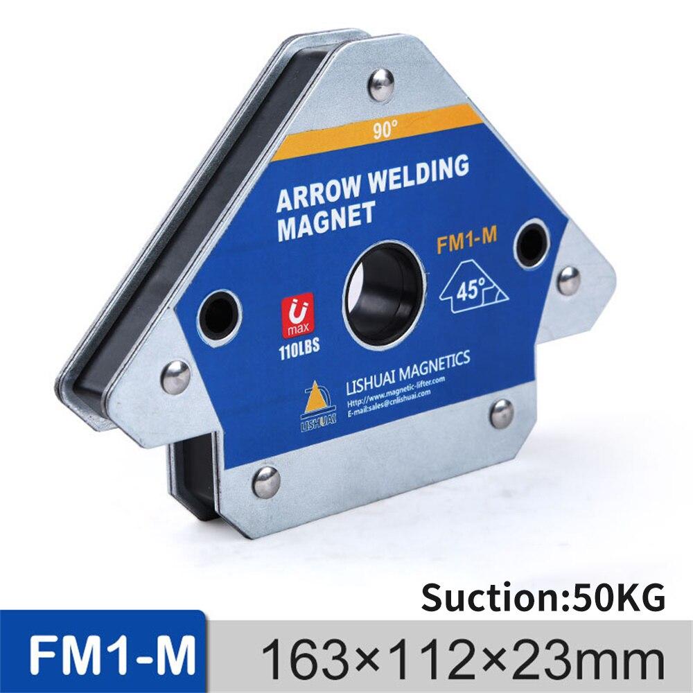 4PCS 110LBS Magnetic Welding Holder Corner Positioner Soldering Locator for Welding Angles Magnetic Welding Magnet Holder FM1-M