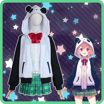 Hololive VTuber GAMERS YouTuber Sasaki Saku Cosplay Costumes Women Casual Outfits Top Skirts Coat Halloween Uniforms Custom Made 2
