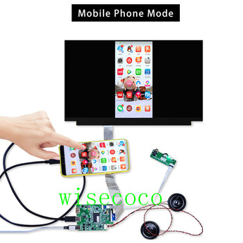 13.3 inch LCD Screen Display IPS LQ133M1JW15 Type-C audio output EDP Controller board Support mobile phone tablet pc