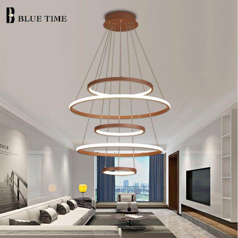 Rings Pendant Light For Kitchen Bar Living Room Foyer Bedroom Parlor Lustre Pendant Lamp For Dining Room Modern Pendant Light