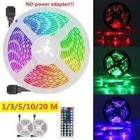 1/3/5/10/20m SMD 3528 LED Streifen Licht IP33 RGB Flexible Band Band lampe mit 12V Fernbedienung (kein netzteil!!)