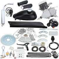 80cc 2 велосипед мотоцикл ход газовый двигатель комплект для DIY электрический велосипед горный велосипед карманный велосипед полный комплект...