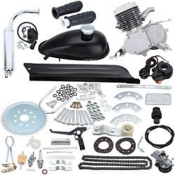 80cc 2 Fiets Motorfiets Stroke Gas Engine Kit Voor Diy Elektrische Fiets Mountainbike Pocket Bike Complete Motor Set Motor kit