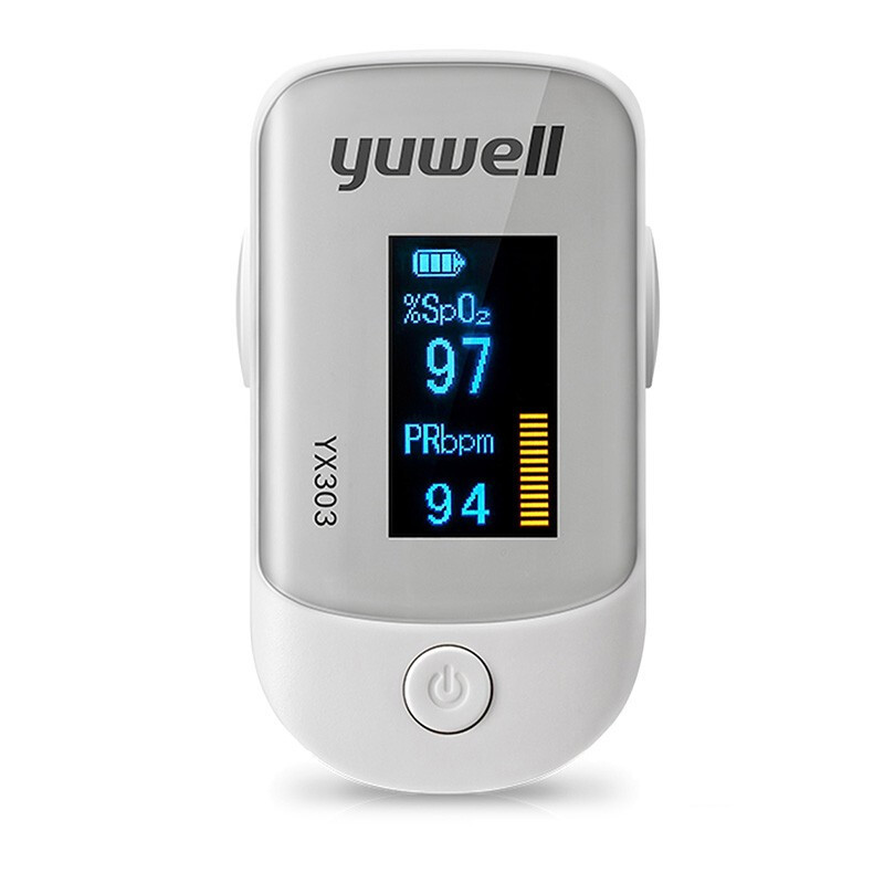 Yuwell Oximeter Finger Clip Medical Blood Oxygen Saturation Detection Household Finger Pulse Detector