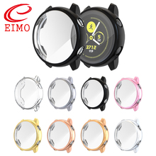 Cover For Samsung galaxy watch active case bumper Accessories Protector Full coverage soft silicone Screen Protection case