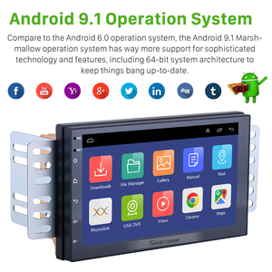 Image 2 - Seicane 2Din Android 9.1 uniwersalne Radio samochodowe GPS dla NISSAN TOYOTA KIA VW Hyundai Suzuki Honda RAV4 słoneczny YARIS COROLLA VIOS