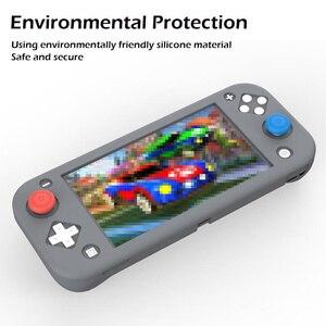 Image 5 - Силиконовый чехол для nintendo Switch Lite, розовый милый цветной чехол, задняя крышка для nintendo Switch Lite, аксессуары для игровой консоли