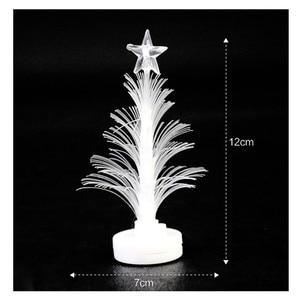Merry Led Color Changing Mini Christmas Xmas Tree Home Table Party Decor Charm Narodzenie Adornos De Navidad Новый Год 2021 #40