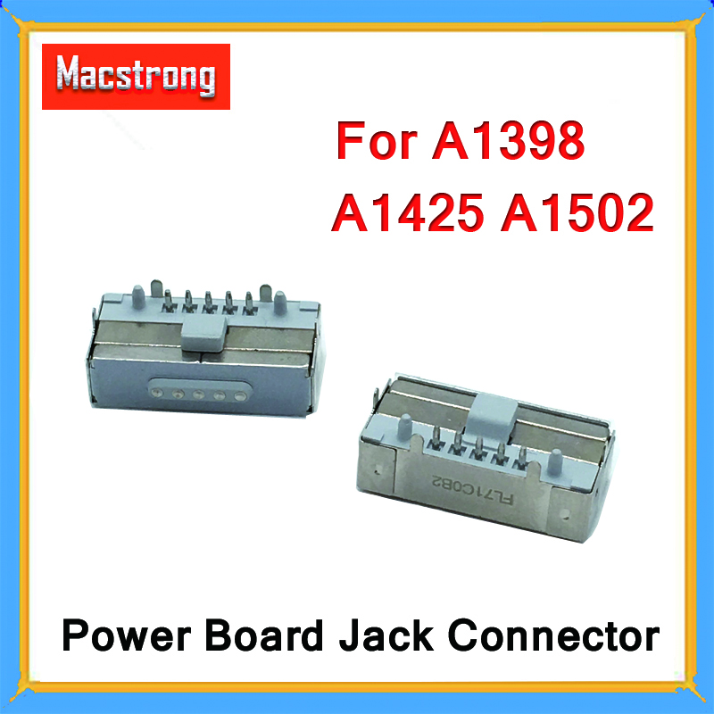 New Original Magsaf* 2 DC Power Jack Board DC Connector For MacBook Pro Retina A1398 A1425 A1502 2012 2013 2014 2015 Year
