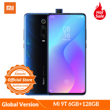 Xiaomi 9T 6GB 128GB Mi-9t Redmi K20 GSM/LTE/WCDMA Nfc Quick Charge 4.0 Bluetooth 5.0/Elevating camera/Game turbogpu turbo/Gorilla glass