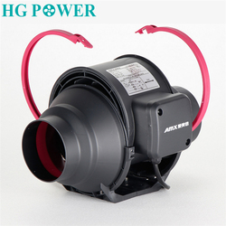 Ventilador en línea doméstico silencioso de 4 ''6'', ventilador de cocina, sistema de escape para inodoro, baño, ventilación, ventilador de aire de 220V