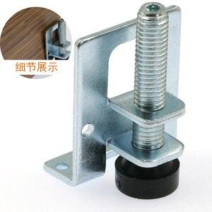 Image 2 - 4 個 0 5 センチメートルネジ家具調節可能なキャビネット脚鋼テーブルソファ金属レベリング足コーナーブラケットフロア保護ハードウェア