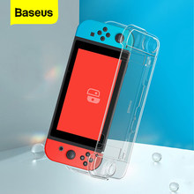 Baseus Luxury Silicone for Nintendo Switch Case Ultra Thin Game Console Controller for Nintendo Switch Lite Case with Key Cap*2(China)
