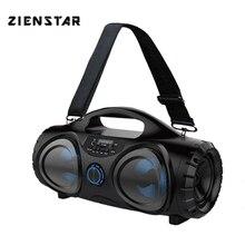 ZIENSTAR 10 Вт беспроводной Bluetooth спортивный динамик, портативный наружный сабвуфер, поддержка TF/USB карты, fm-радио, Aux, микрофон