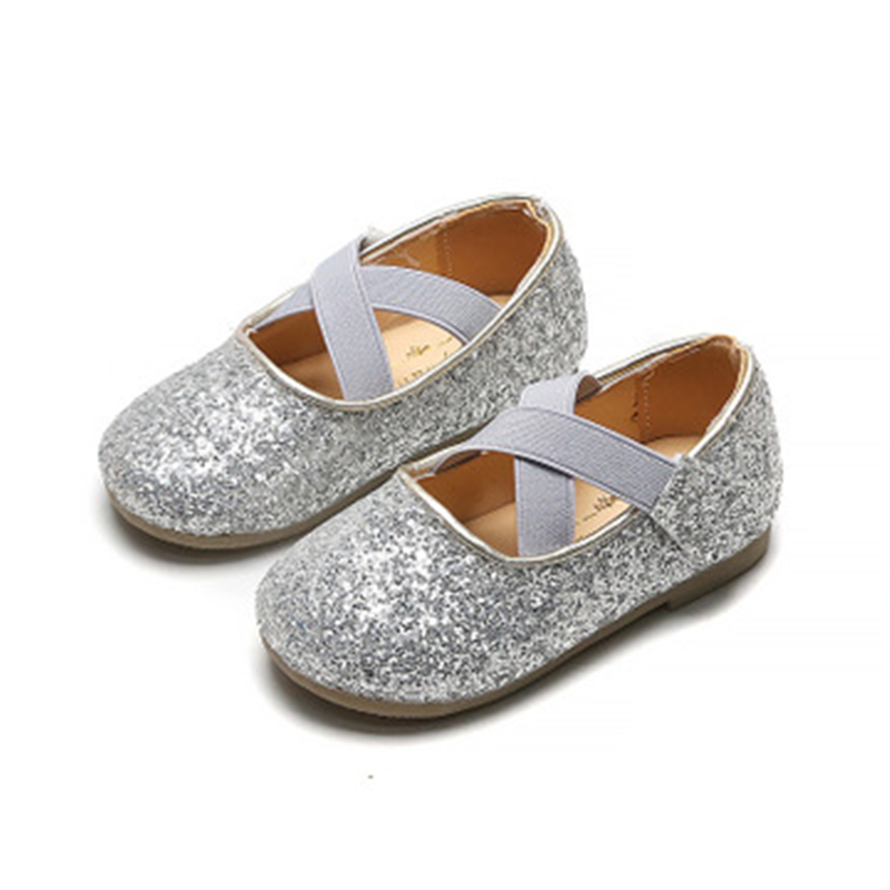 Spring Children Flats Autumn Girls Princess Shoes Soft Kids Casual Leather Shoes Loafers Toddler Shoes 06A