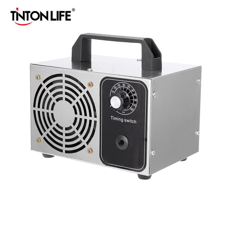 Room,Hotels and Farms USA Stock Durable Ozone Generator Timer Longlife Disinfection Air Purifier Sterilizer Type Ozone Generator 110V 30g//h for Home