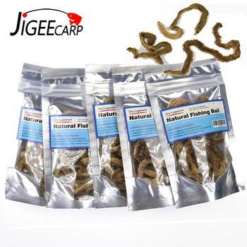 5x 5g Bags Sand Worm Bait Dried Natural Salt Water Sandworm