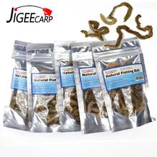 Jigeecarp 5 мешков червячная приманка для песка сушеная лугчервь