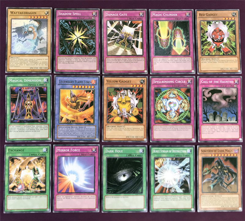 Yugioh Cards Egyptian God Collectible Toys for Boy Free Yu-gi-oh Metal Box 66Pcs Figures Japan Yu Gi Oh Legendary Game Cartas (4)