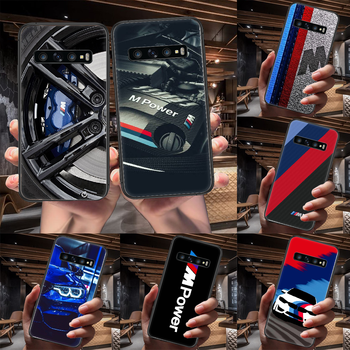 Red Blue Car for Bmw Phone Case For Samsung Galaxy Note S 8 9 10 20 Plus E Lite Uitra black Coque Pretty Cover Trend Hoesjes 3D image
