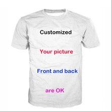 Thin Breathable Custom Printing Men Women T Shirt DIY Casual