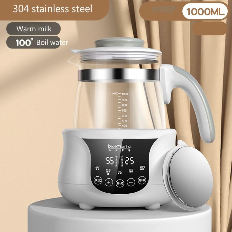 Младенческий термостатический регулятор молока, чайник, горячая вода, умный изоляционный горшок, автоматическое нагревание молока, теплое молоко, молочный порошок