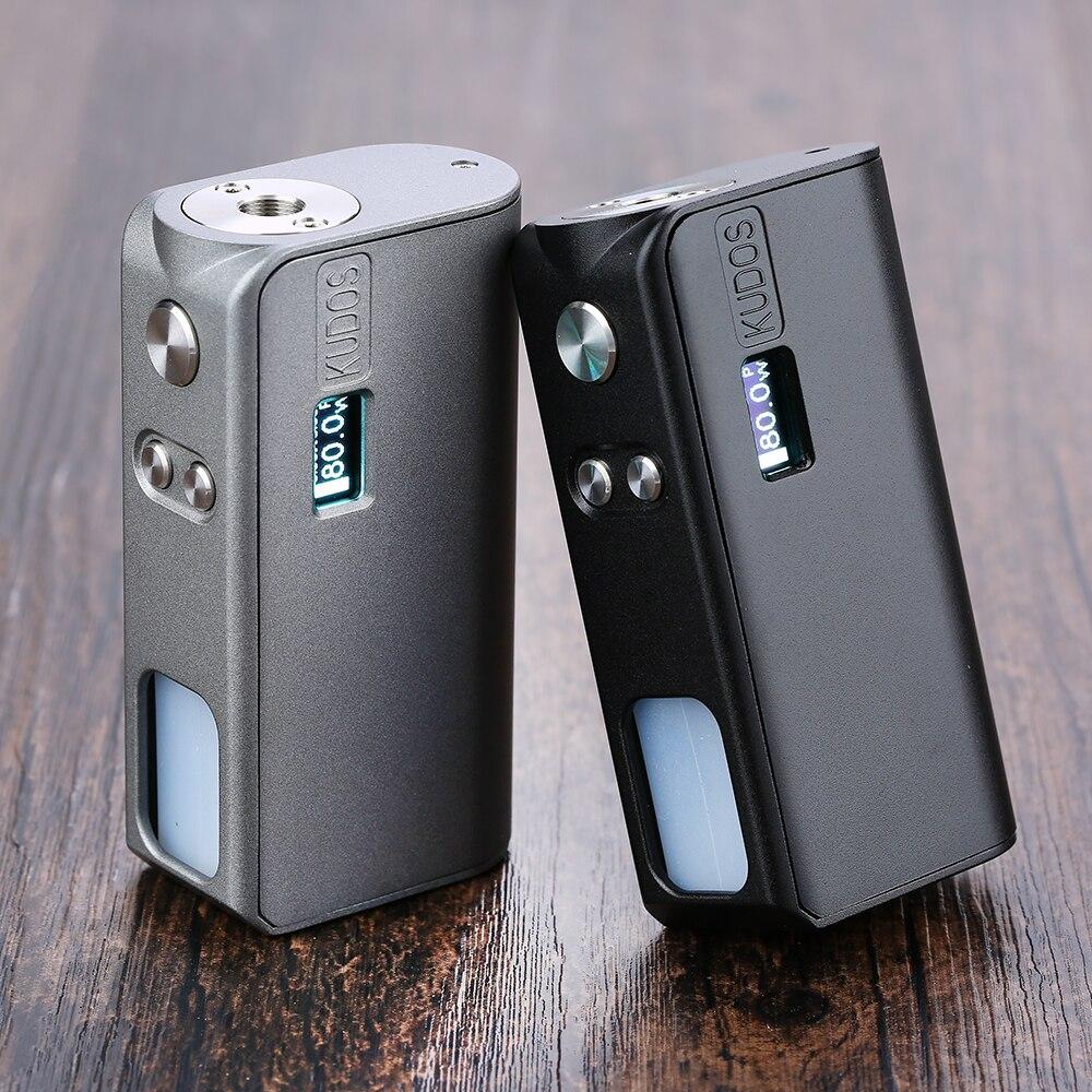 Original Hippovape Kudos 80W Squonker MOD puissance par une batterie 18650 et 7.5ml bouteille glisser-vers-recharge boîte MOD VS glisser 2/Gen Mod
