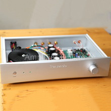 1PCS Silver/Black NEW Refer SUGDEN SF200 Circuit ON 2SC2922 A1216 Tube 2.0 Channel 100W Fever Level Audio Home Amplifier AP65