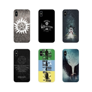 Accessories Phone Cases Covers Supernatural For Samsung Galaxy S3 S4 S5 Mini S6 S7 Edge S8 S9 S10 Lite Plus Note 4 5 8 9