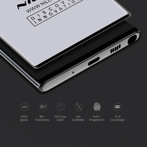 Image 4 - For Samsung Galaxy Note 10+ Pro NILLKIN 3d cp + max 스크린 보호 필름 For note10 pro note 10 plus 5g glass