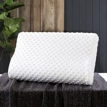 Latex Neck Pillow Massage For Cervical Health Care Memory Foam Orthopedic Pillow Neck Fiber Slow Rebound Soft Cervical Pillow