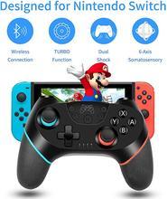 Mando inalámbrico para Nintendo Switch, mando Switch Pro para NS