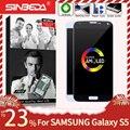 ЖК-дисплей AMOLED 5,1 дюйма для SAMSUNG Galaxy S5 G900F, сенсорный экран с дигитайзером для SAMSUNG S5, дисплей G900M G900, ЖК-дисплей с ожоговым эффектом