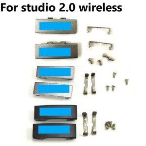 Image 3 - Replacement Metal Buckle Lock Logo Connector Parts for Beats Studio 2.0  Headphone Repair Parts for Studio2.0 Wireless Headphone