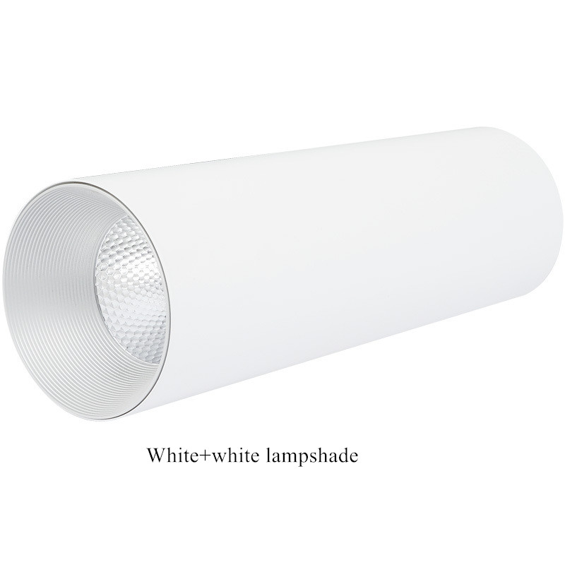 White-Gold lampshade