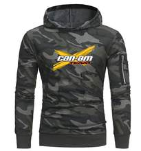 2019 BRP Can-am Heren Truien Mannen Sweatshirts mannen Hoodies Suzuki Casual Camo jacets hoodie(China)