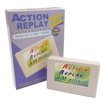 2 шт. Новый 3 в 1 EMS 4 м авто для Sega Saturn Action Replay Plus с 4 м Расширенная карта памяти функция сохранения воспроизведения