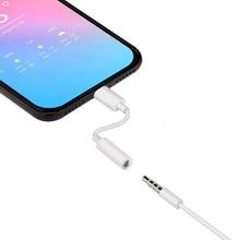 Adaptadores para iphone fones de ouvido relâmpago para 3 5 mm jack aux adaptador para iphone se 11 pro max 7 8 plus x xs max xr cabo de áudio