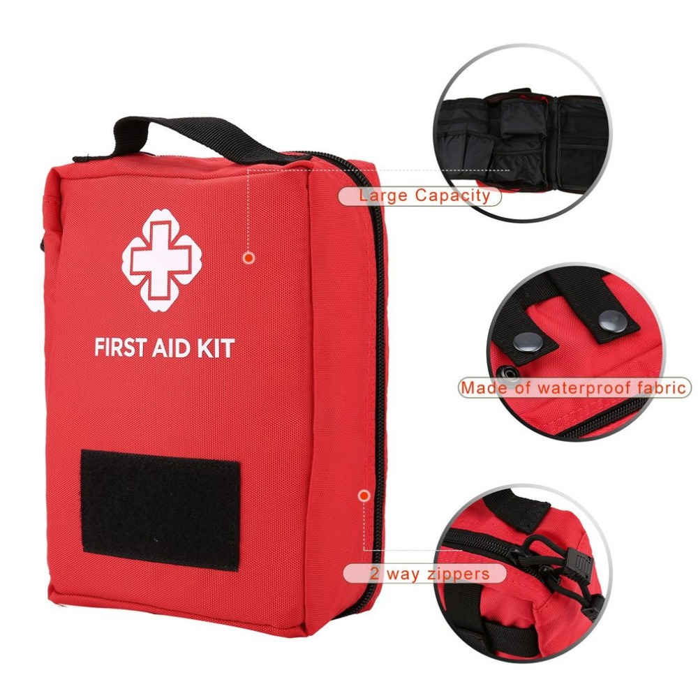 Outdoor Travel First Aid Kit Portable Survival Kit Multifunctional Waist Pack Tactical Emergency First Aid Bag For Camping Climb