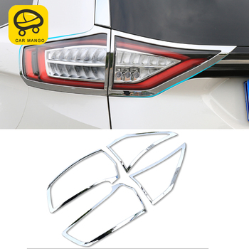 CarManGo For Ford Edge 2015 Car Styling Rear Light Lamp Cover Trim Frame Sticker Exterior Accessories