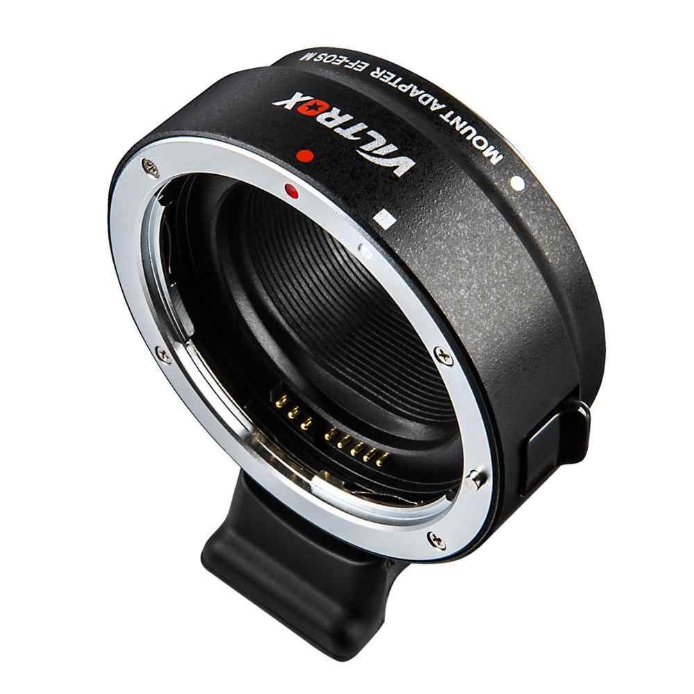 Viltrox EF-EOSM elektronik otomatik odaklama lens adaptörü dağı Canon EOS EF EF-S lens EOS M EF-M M2 M3 M5 m6 M10 M50 M100