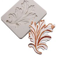 3pcs/set Leaf Silicone Mold Sugarcraft Lace Mat Fondant Mould Cake Decoration Tool Gumpaste Chocolate Clay Mould Kitchen