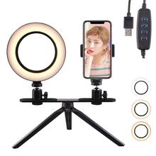 Photography LED Selfie Ring Light 20cm/26CM Dimmable Camera Phone Ring Lamp With Tripods Stand For Makeup Video Live Studio photography led selfie ring light 26cm dimmable camera phone ring lamp with tripod bluetooth remote for makeup video live studio